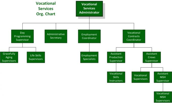 Org. Chart - Vocational Services